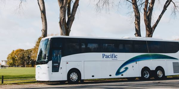 galveston island charter bus service