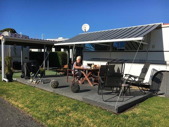 caravan park in New Zealand