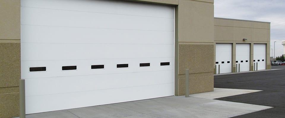 commercial garage door supplier